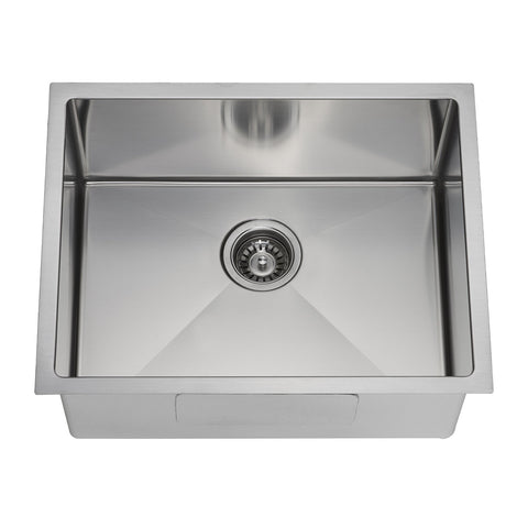 E2 Stainless 16 Gauge 23x18x10 Stainless Steel Rectangular Sink w/ Very Small Corner Radius - VSR-2318