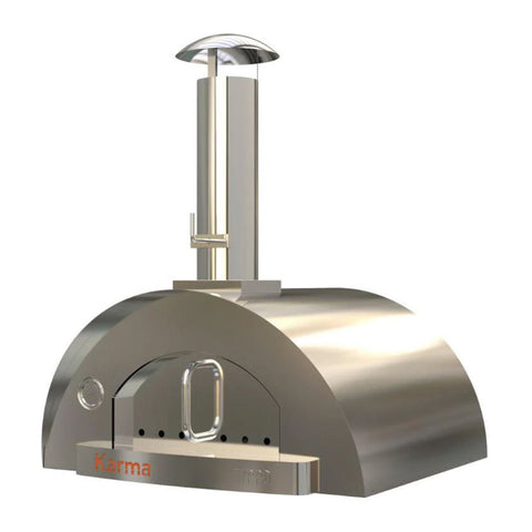 WPPO Karma 42-Inch Stainless Steel Wood Fired Pizza Oven - WKK-03S-304SS