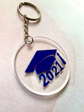 Load image into Gallery viewer, 2021 Grad Acrylic Keychain