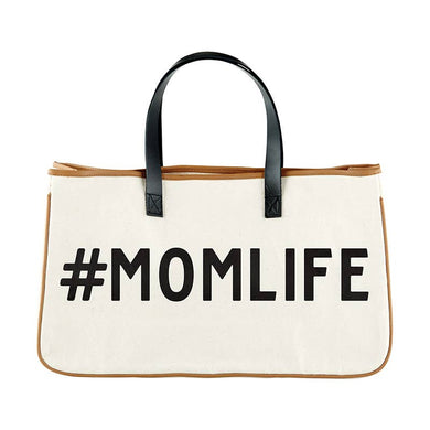Momlife Leather Weekend Tote