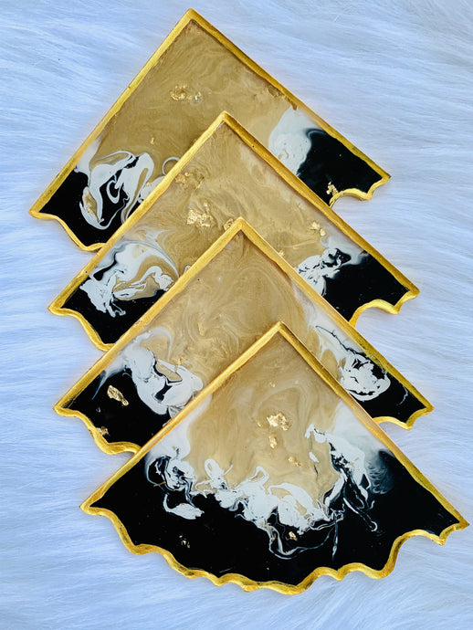 Egyptian Lux Resin Coasters