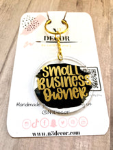 Load image into Gallery viewer, Small Biz Owner Acrylic Keychain