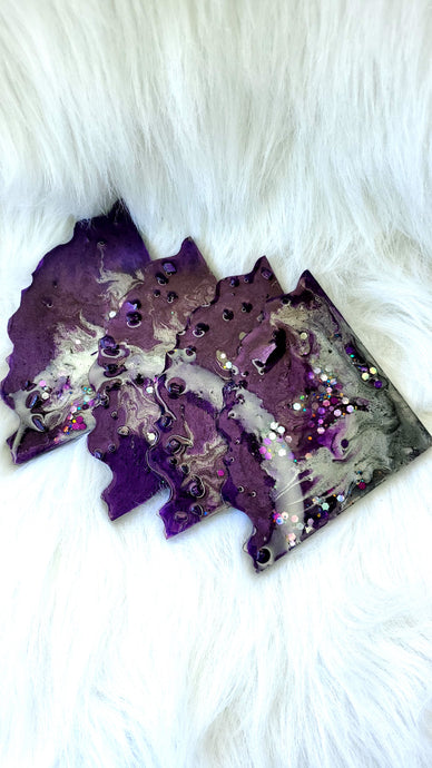 Custom Resin Art Coasters