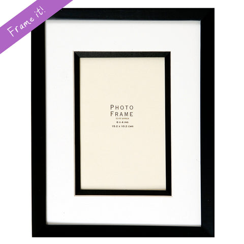 Luxury Black Frame