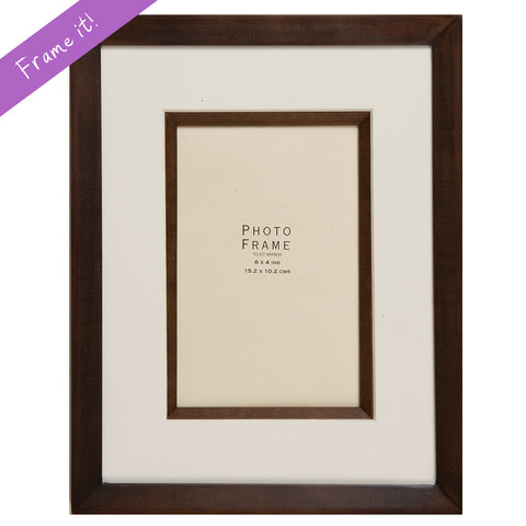 Luxury Brown Frame