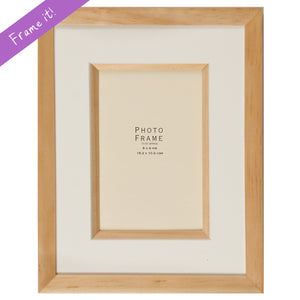 Luxury Beech wood frame
