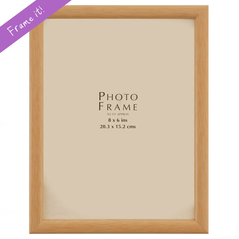 Thin Beech wood Frame