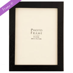 Black Wood Medium Frame