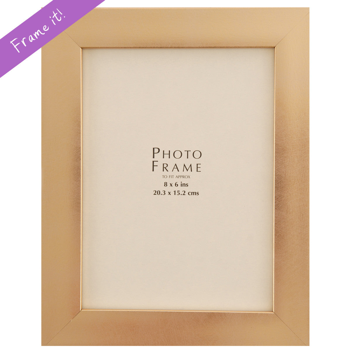 Medium Gold Frame