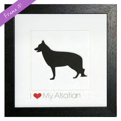 I love my Alsatian