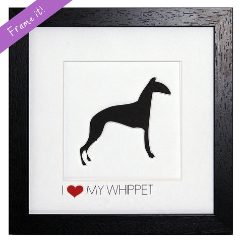 I love my Whippet