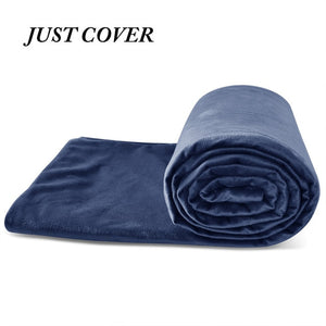 Weighted Cotton Blanket for Bed or Sofa