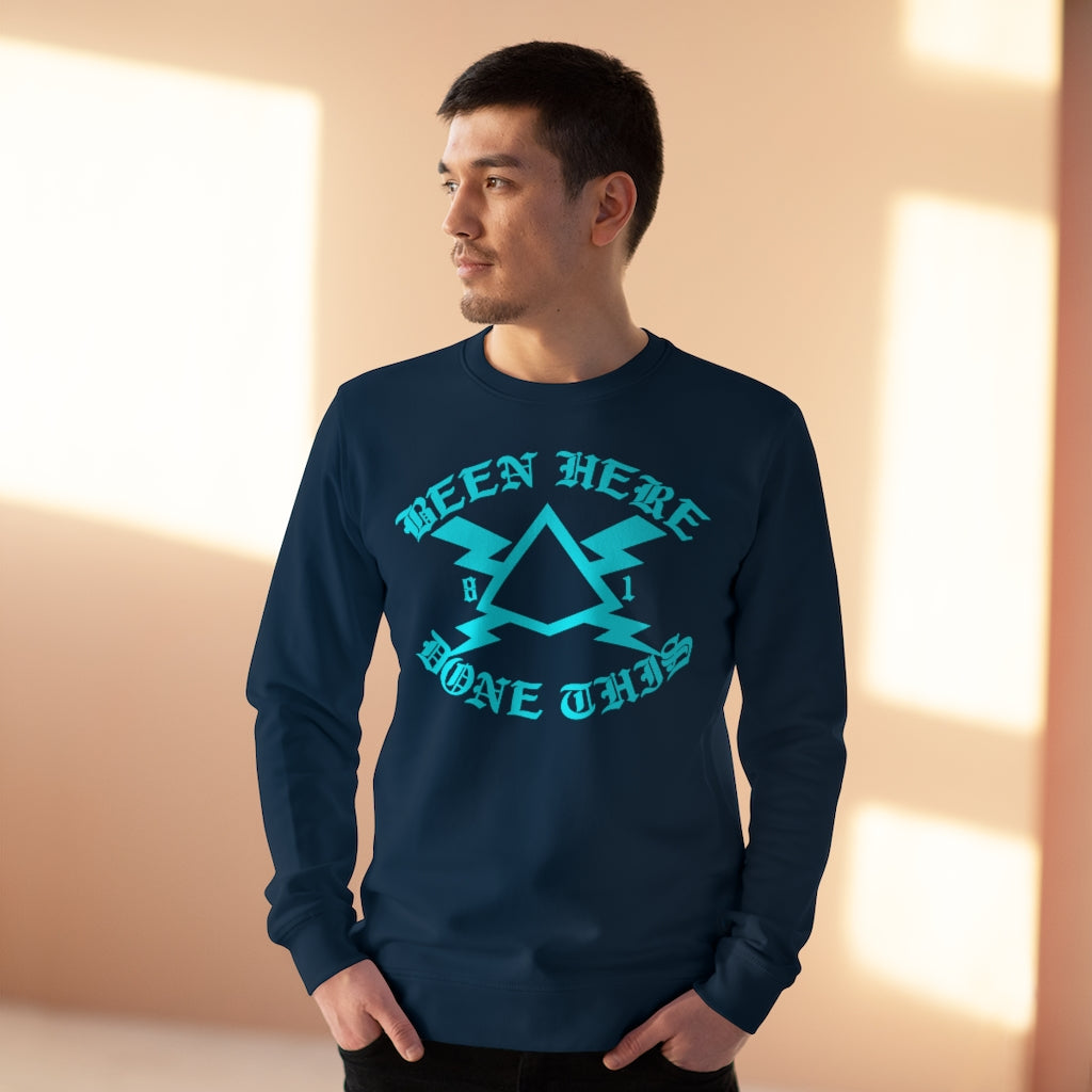 BEEN HERE DONE THAT Navy Rise Sweatshirt