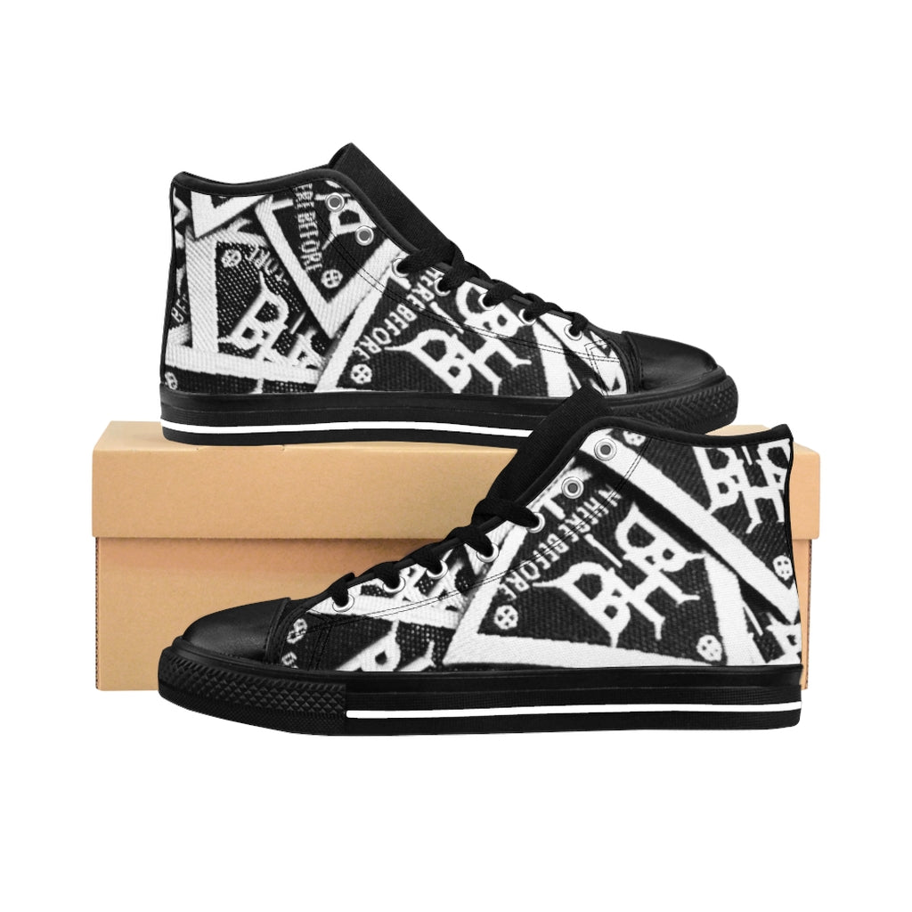 "BHB ""Patch"" Men's High-top Sneakers"