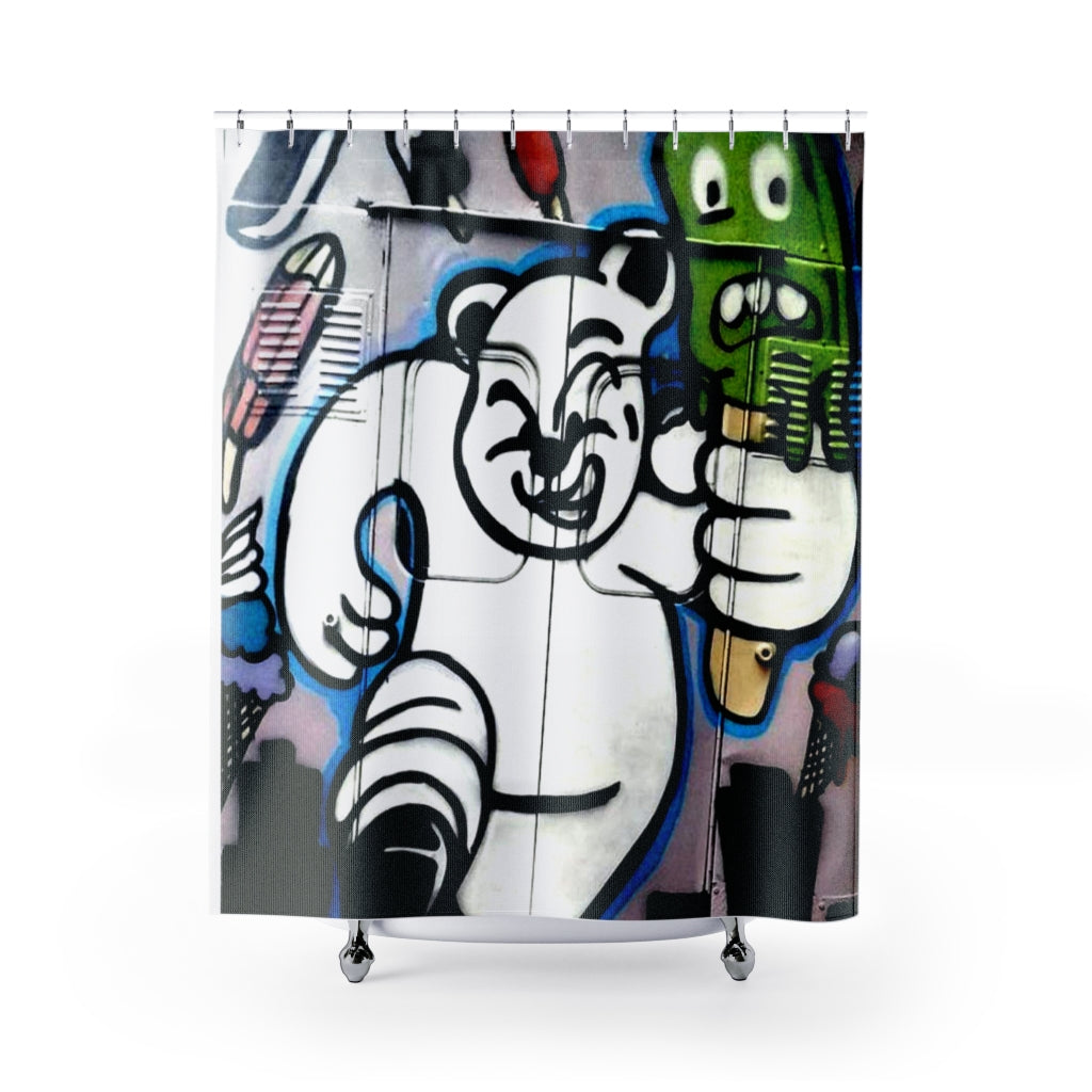 Big B Shower Curtain