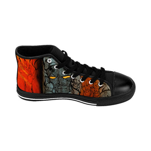 "BHB ""Heaven N' Hell"" Men's High-top Sneakers"
