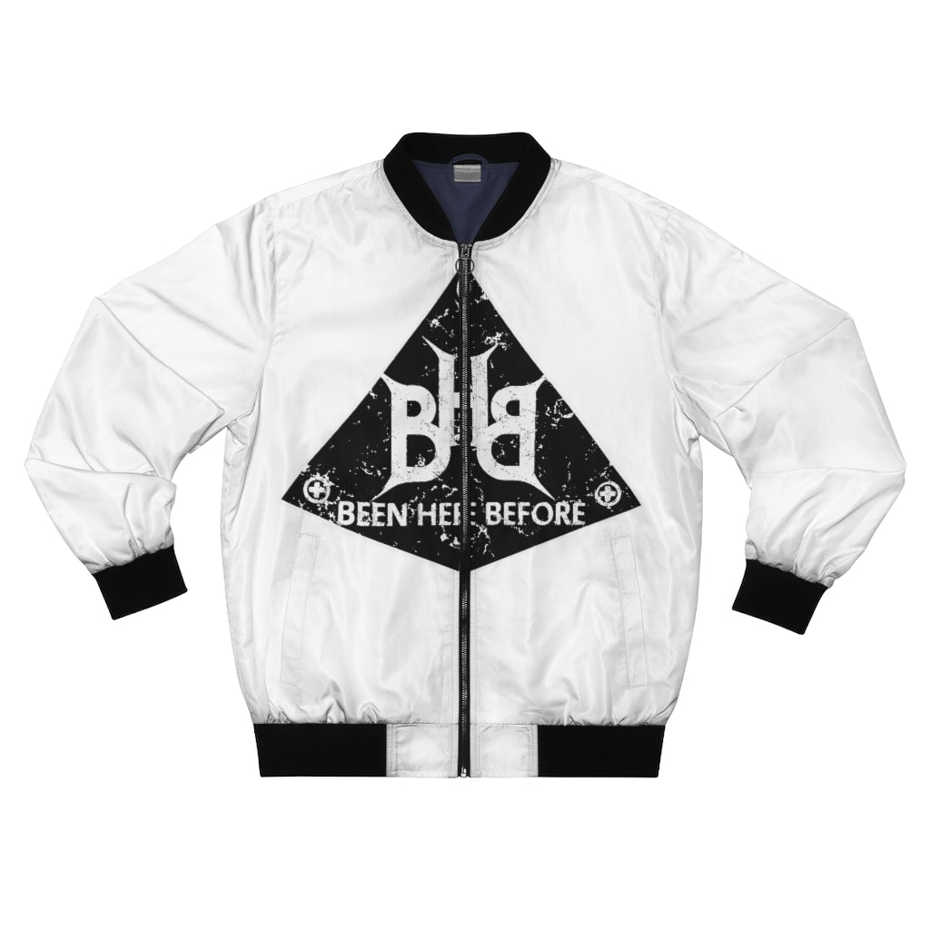 "BHB Men's 'Pyramid"" Bomber Jacket"
