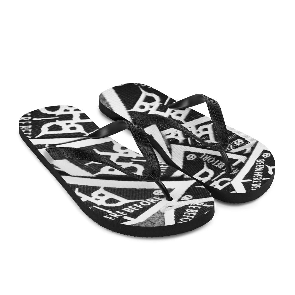 "BHB ""Patch"" Flip-Flops"
