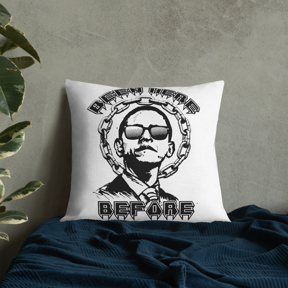 """Obama"" BHB Premium Pillow"