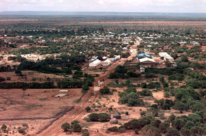 City in Third-World Somalia