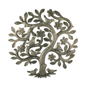 Haiti Tree of Life | Haiti Steel Metal Drum Art , Vineworks - Vineworks Fair Trade