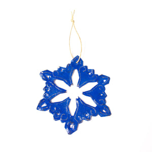 Snowflake | Blue , Vineworks - Vineworks Fair Trade