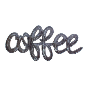 Coffee | Haitian Steel Metal Drum Art , Vineworks - Vineworks Fair Trade