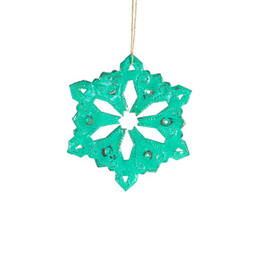 Snowflake | Green , Vineworks - Vineworks Fair Trade