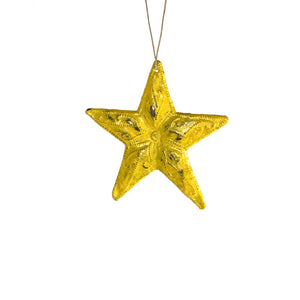 Metal Yellow - Star , Vineworks - Vineworks Fair Trade
