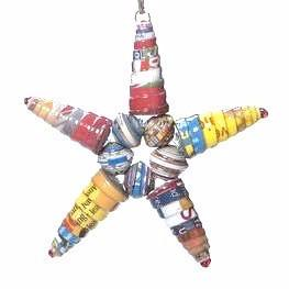 Cereal Box Star | Multicolor , Vineworks - Vineworks Fair Trade