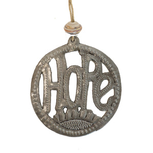 Round Word Ornament | Hope , Vineworks - Vineworks Fair Trade