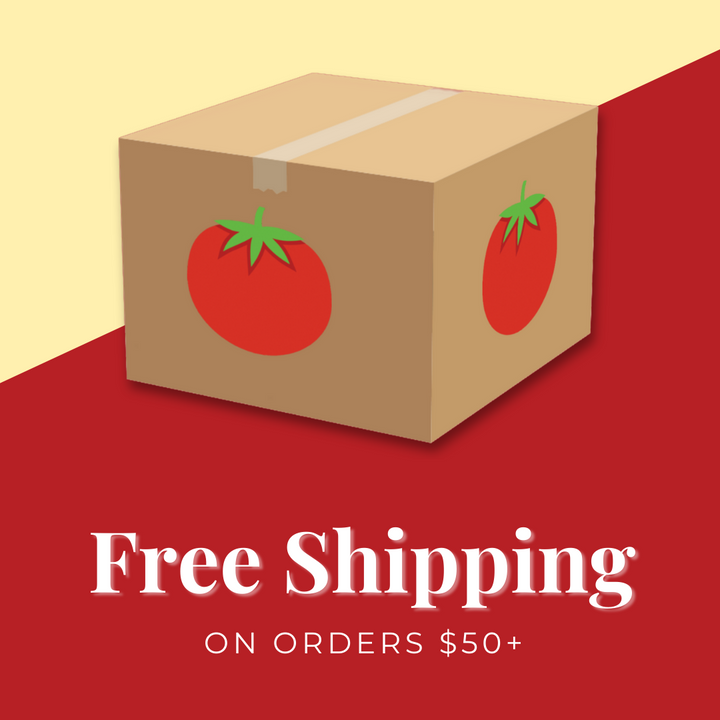Now offering FREE Shipping on Orders $50+