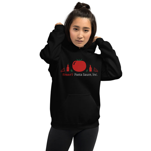 Black Unisex Hoodie w/ Colored Logo