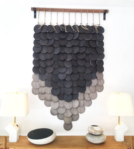 CERAMIC DISC WALL SCULPTURE