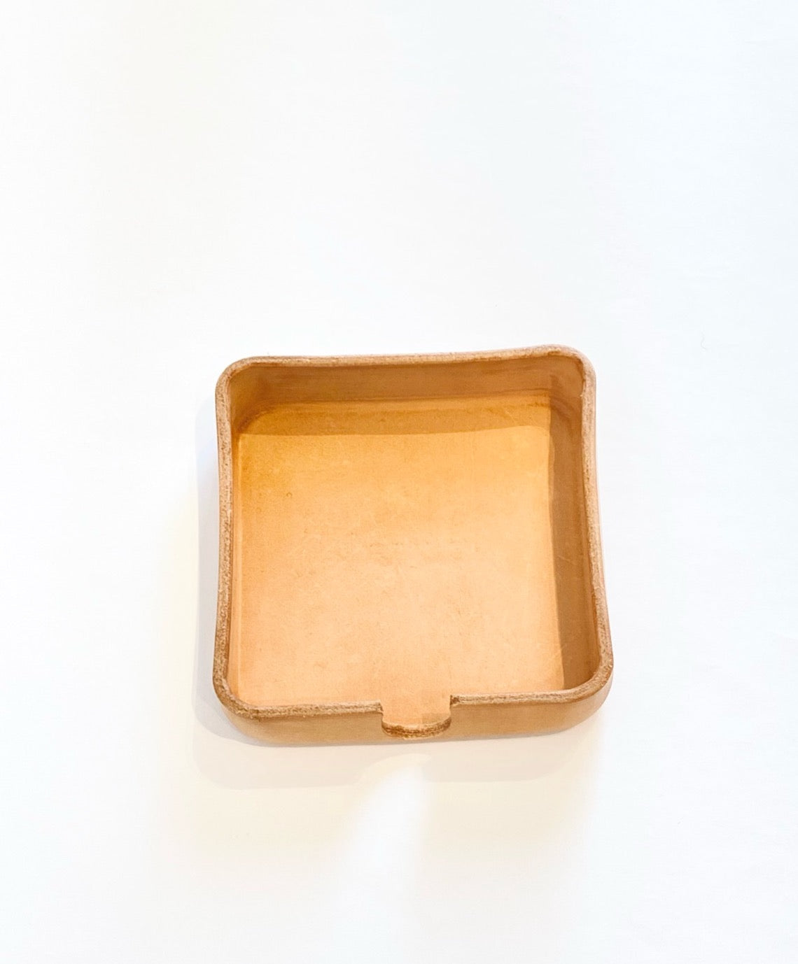 Coaster Caddy - Square Leather