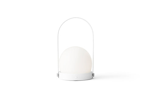 CARRIE PORTABLE LAMP - WHITE