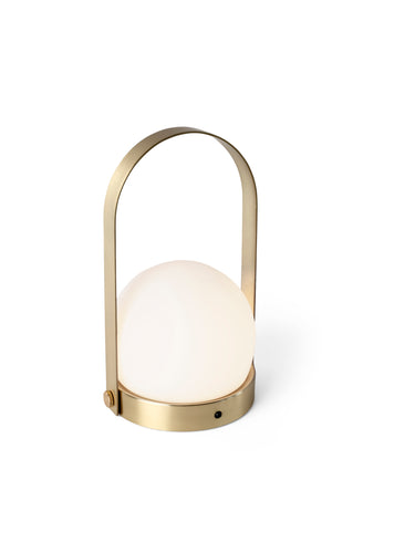 CARRIE PORTABLE LAMP - BRASS