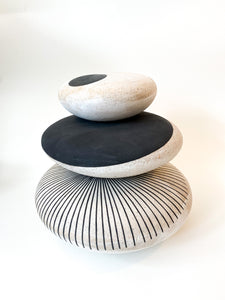 SMALL STONEWARE ROCK