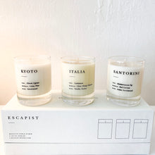 Load image into Gallery viewer, ESCAPIST MINI CANDLES - SET OF 3