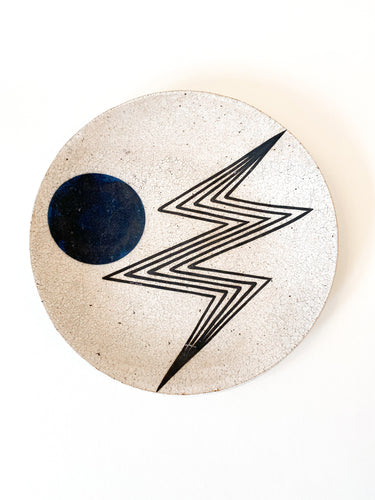 BOLT AND MOON PLATE