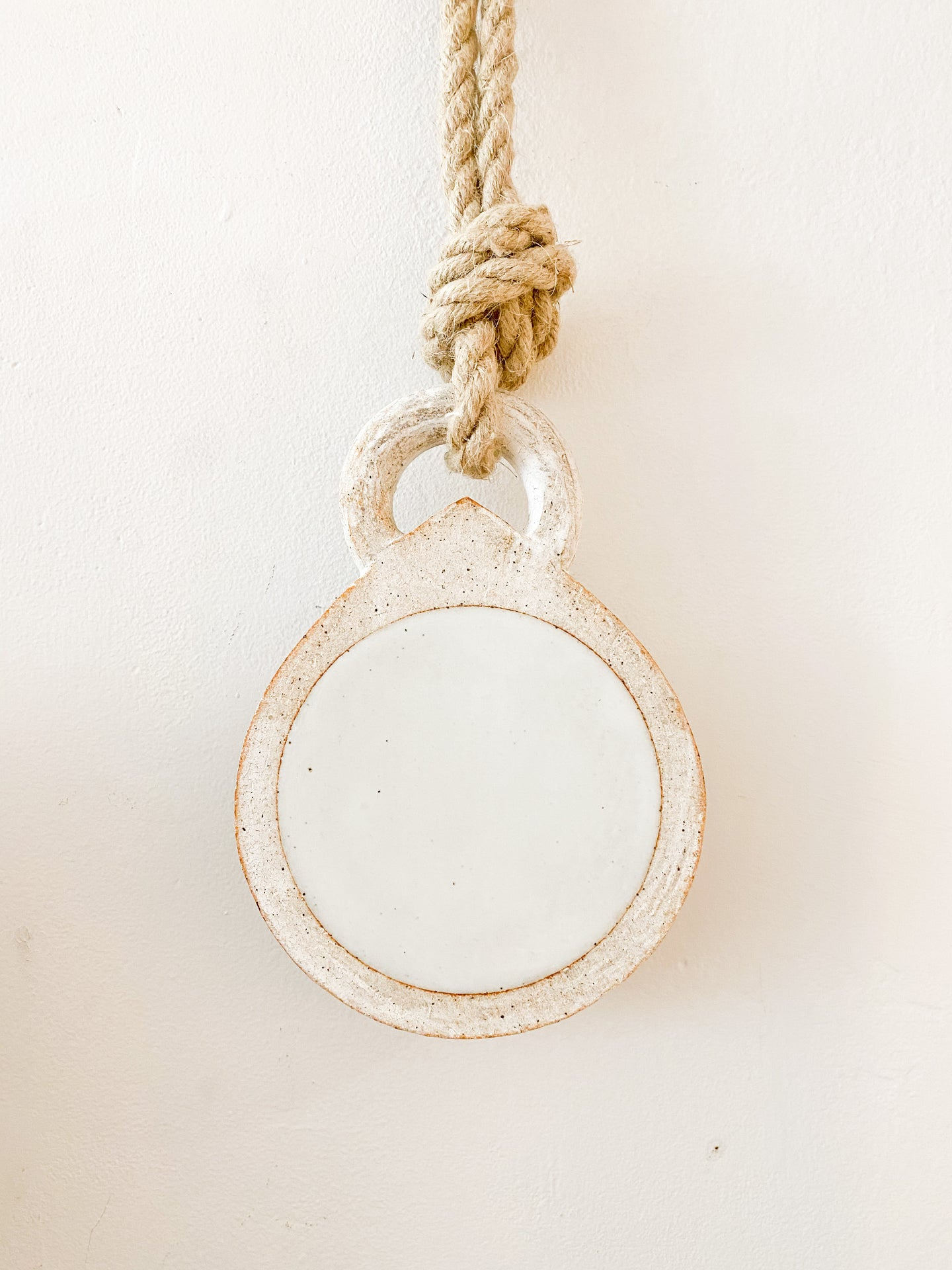 LOVE LOCKET WALL HANGING - WHITE MOON