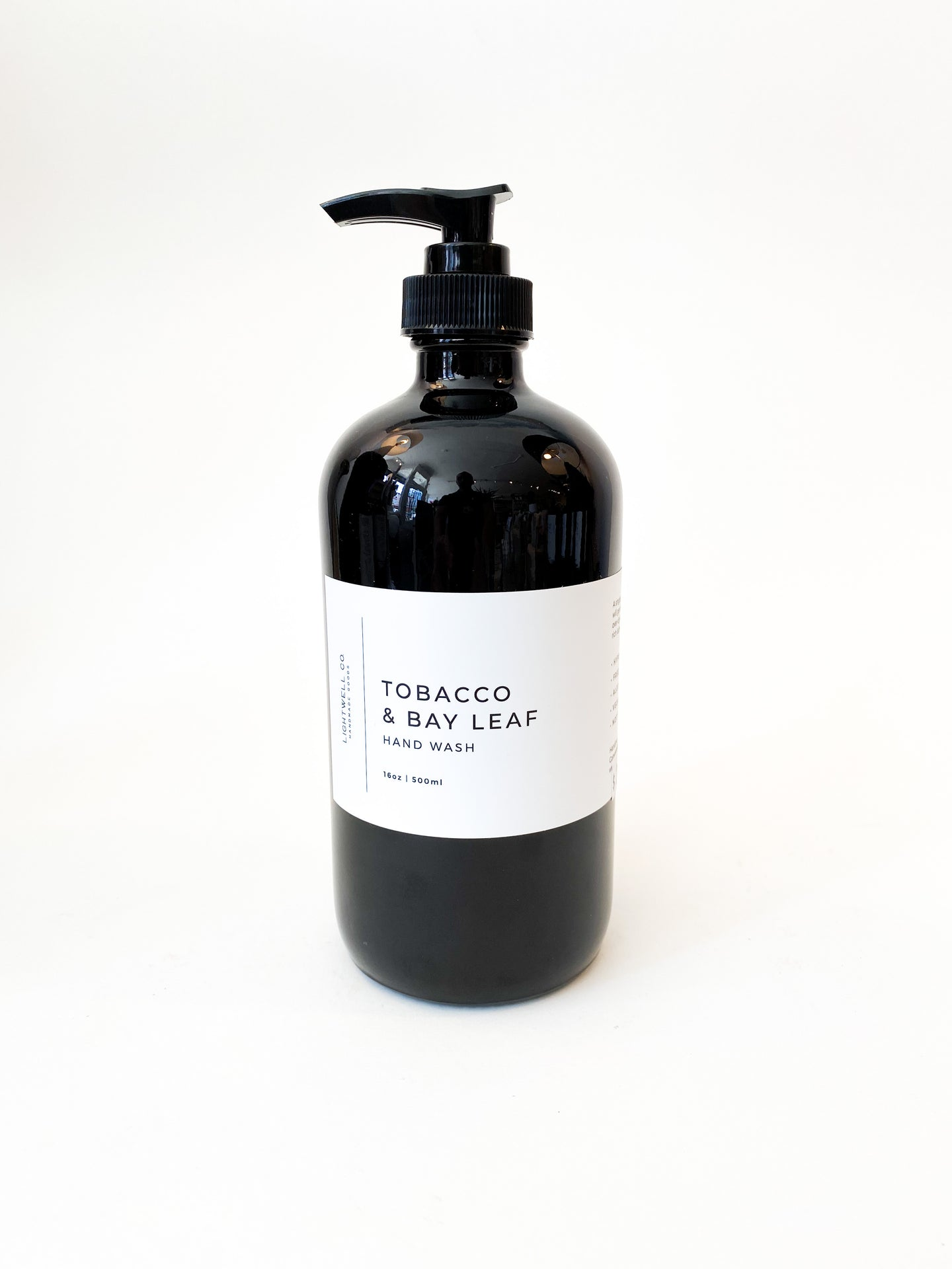 HAND WASH - TOBACCO & BAY LEAF