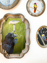 Load image into Gallery viewer, BIRD PAINTING ON TRAY - SPEECHLESS