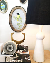 Load image into Gallery viewer, BELLA SKIRT LAMP - WHITE WASH