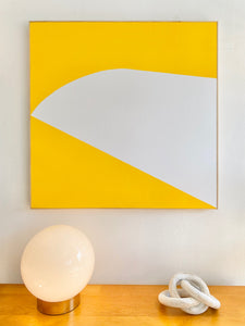 ABSTRACT ART - YELLOW EAGLE