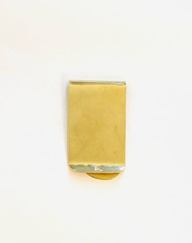 BRASS MONEY CLIP