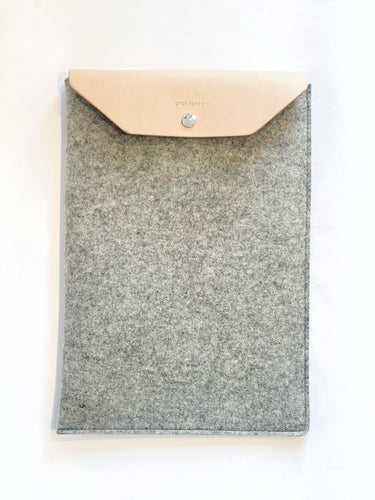 MacBook Pro And Air Sleeve - Granite