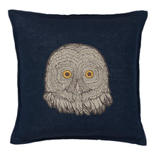 Load image into Gallery viewer, OWL APPLIQUE PILLOW