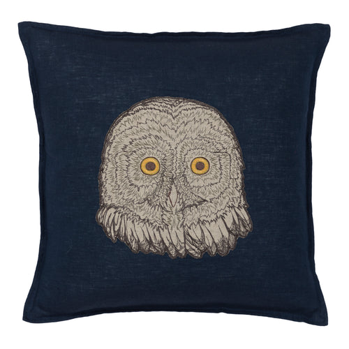 OWL APPLIQUE PILLOW