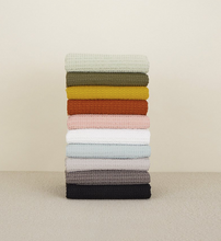 Load image into Gallery viewer, SIMPLE WAFFLE TOWELS - SKY